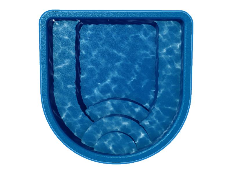 spa - fiberglass pool in new braunfels