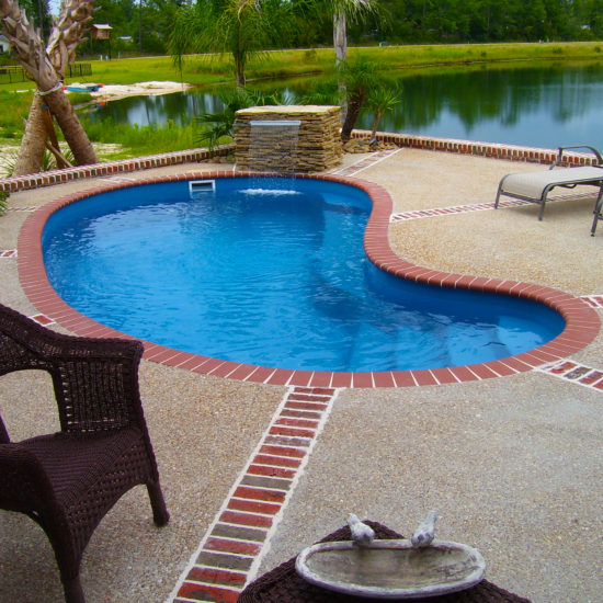 swimming pool - fiberglass pool in san antonio