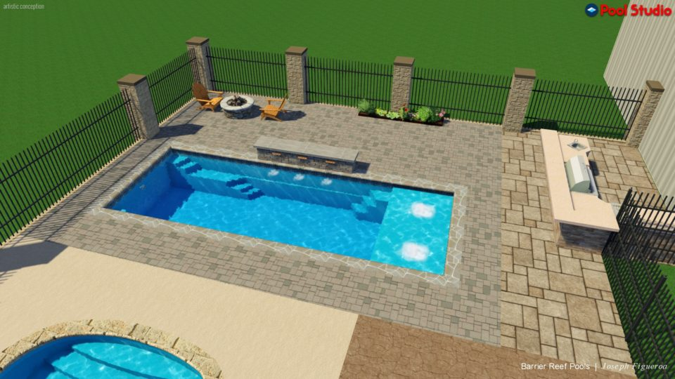 pool color