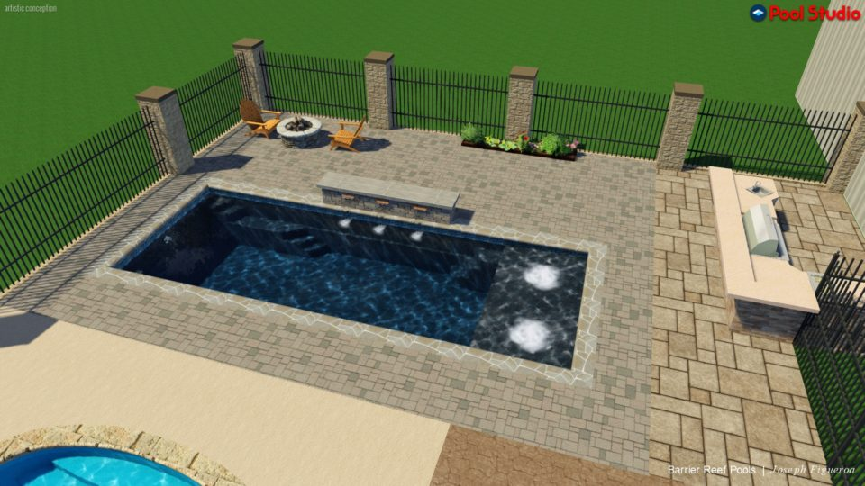 pool color - swimming pool builders san antonio