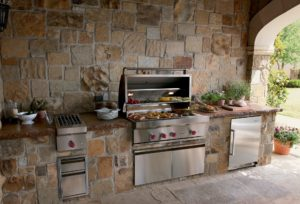 outdoor kitchen - pool companies in san antonio