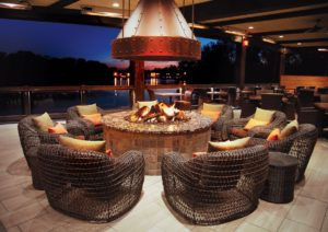 fire pit - swimming pool contractor in san antonio